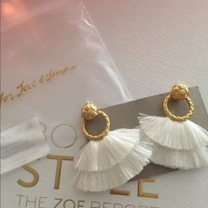 For Love & Lemons Rachel Zoe box earrings